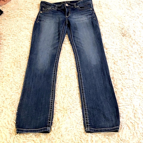Express Skinny Low Rise Jeans 6R